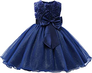 Girls Party Dress Princess Flowers Wedding Dresses Toddler Baby Pageant Tulle Tutus