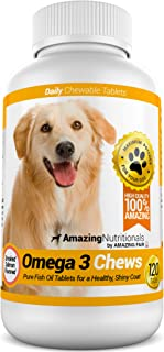 amazing nutritionals omega 3 chews for dogs