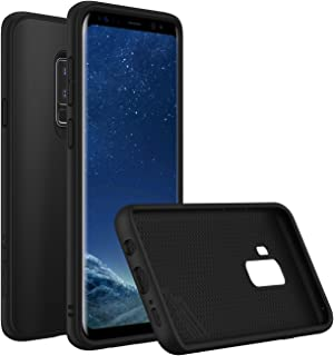 RhinoShield Case for Galaxy S9 Plus [SolidSuit] | Shock Absorbent Slim Design Protective Cover - Compatible w/Wireless Charging [3.5M / 11ft Drop Protection] - Classic Black
