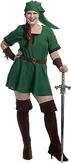 Charades Women's Plus Size Elf Warrior Princess Costume, 3X