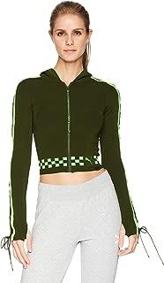 Womens x Fenty by Rihanna Laced Sleeve Sweater Zip Hoodie