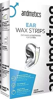 Andmetics Depilatory Strips for Men Ears