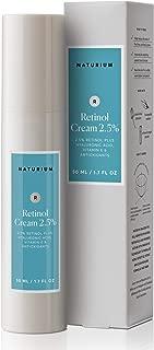 Naturium Retinol Cream 2.5% with Retinol Plus Hyaluronic Acid, Vitamin E & Antioxidants