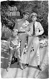 Andy Griffith - Lawmen Fleece Blanket 35 x 57in