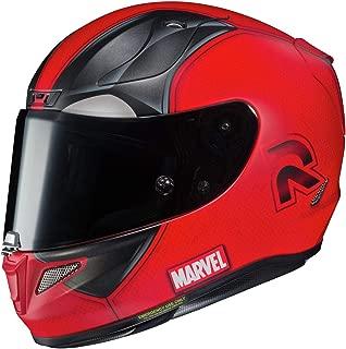 HJC RPHA 11 Pro Helmet - Deadpool 2 (Small) (RED)