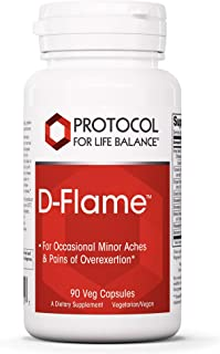 Protocol For Life Balance - D-Flame - Promotes Joint Health, Supports Occasional Minor Aches and Pains from Overexertion o...