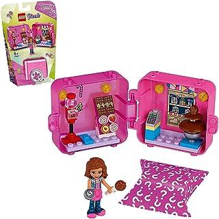 لعبة مكعبات فريندز لتكوين متجر ايما 41407 السلسلة 2 من ليغو، تضم مجموعة صغيرة قابلة للتجميع، وحقيبة سفر محمولة