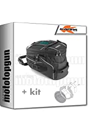 KAPPA PORTAMALETAS LATERAL MONOKEY COMPATIBLE CON HONDA XL 650 V TRANSALP 2006 06 2007 07