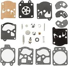 Milttor K10-WAT Carburetor Rebuild Kit Diaphragm Gasket Needle Repair Carb Kit for WA WT Series Carb Echo Husqvarna Stihl Chainsaw String Trimmer K10WAT