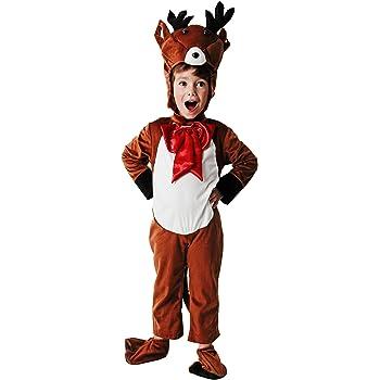 Costumizate! Disfraz de Reno Talla 7-9 Especial para Navidad ...