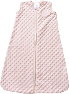HALO Sleepsack Plush Dot Velboa Wearable Blanket, Pink,...