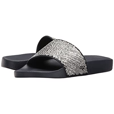 Salvatore Ferragamo PVC Pool Slide With Crystals (Crystal Tomaio Stras) Women
