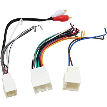 Amazon.com: RED WOLF Car Aftermarket Stereo Radio Install AMP/Amplifier CD  Player Wiring Harness with RCA Connector Premium Sound System for Ford  1998-2005, Lincoln/Mercury 1998-2003: AutomotiveAmazon.com