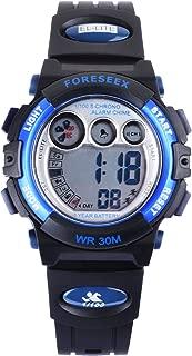FSX-555G Kids Children Boys Sports Digital Water Resistant Wrist Watches