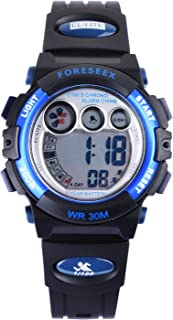 FSX-555G Kids Children Boys Sports Digital Water Resistant Wrist Watches