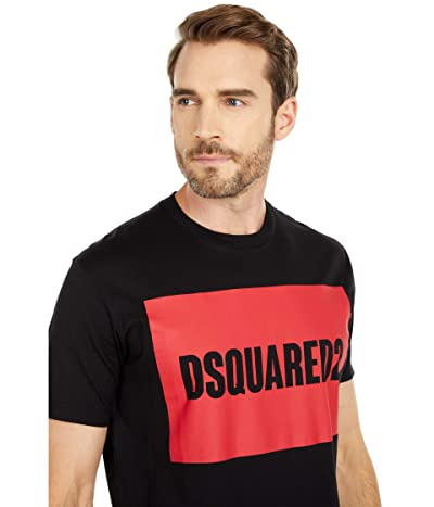 DSQUARED2 Pressato Cool Fit T-Shirt (Black) Men