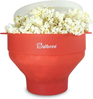 Original Salbree Microwave Popcorn Popper, Silicone Popcorn Maker, Collapsible Bowl - The Most Colors Avail...