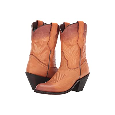 Dingo Shawna (Tan/Purple) Cowboy Boots