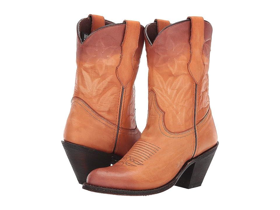 Dingo Shawna (Tan/Purple) Cowboy Boots