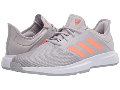 adidas GameCourt (Grey Two/Signal Coral/Grey Three) Men