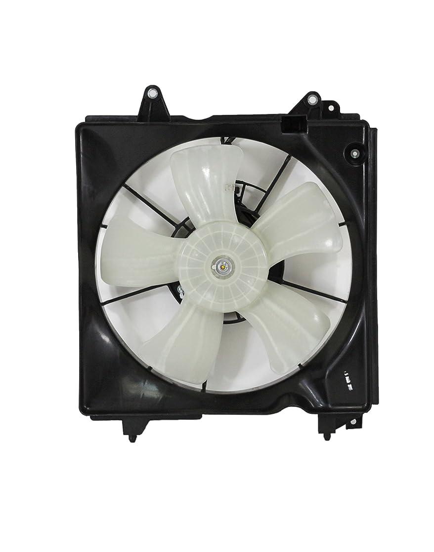 Depo 317-55051-002 Honda Civic 12-15/AC ILX Hybrid 13-15 Radiator A/C Fan Assembly LH