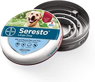 Bayer Animal Health Seresto Flea and Tick Collar for Large Dogs