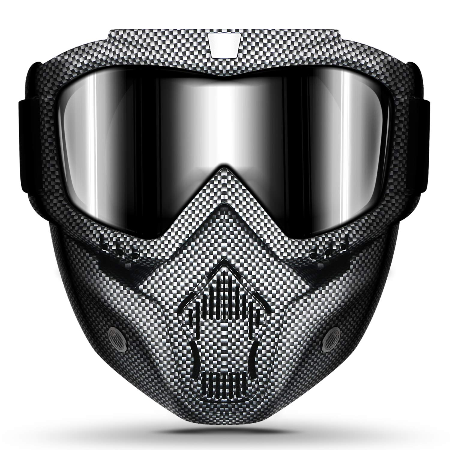 Motorcycle Removable Detachable Fog proof Adjustable