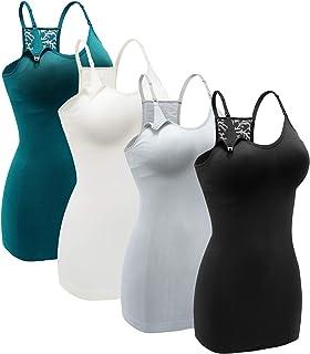 Women's Nursing Tank Top Cami Maternity Bra Breastfeeding...