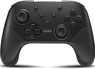Switch コントローラー[2020最新]スイッチコントローラー YOBWIN 任天堂switchに対応 Switch pro無線 HD振動 小型6軸ジャイロセンサー搭載 TURBO連射機能付き 日本語取扱説明書