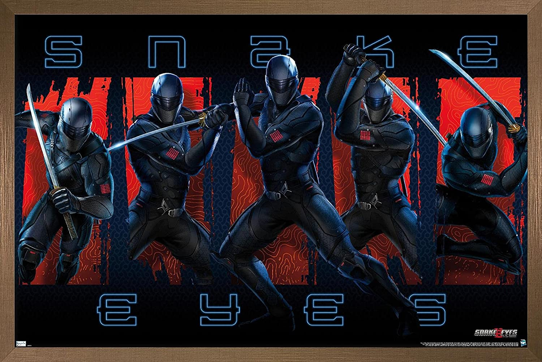 Trends International GI Joe: New product! New type Snake Eyes Group Wall Poster 22. - Baltimore Mall