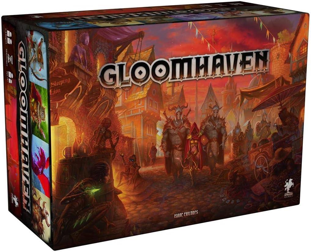 Gloomhaven 2ª Edición - Juego de Mesa en Español