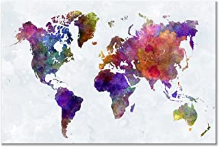 Best maps on canvas for sale Reviews
