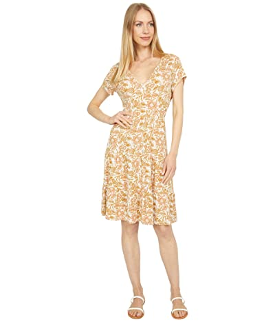 Lucky Brand Printed Tiered Babydoll Dress
