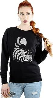 Women's Alice in Wonderland Mono Cheshire Cat Sweatshirt