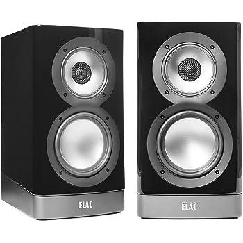 Elac ARB51-GB Navis Premium Powered Bookshelf Speakers - (Pair) Gloss Black
