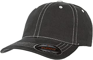 Premium Original Contrasting Stitch Blank Baseball Hat Cap Fitted 6386