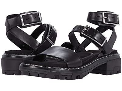 rag & bone Shiloh Sandal (Black) Women