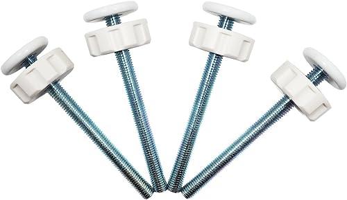 Baby Gate Guru Extra Longues Filetées de Broche Tiges Pression M10 (10mm) pour Barrière de Sécurité pour Bébés et Ani...