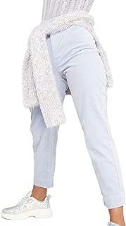 Wild Fable Women's Elastic Waist Cord Straight Leg Corduroy Pants