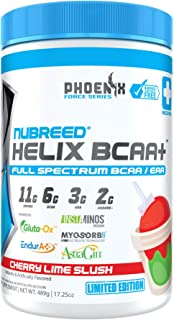 Nubreed Helix BCAA+ | Limited Edition | Delicious Full Spectrum BCAA/EAA + Electrolyte Recovery Powder | Ve...