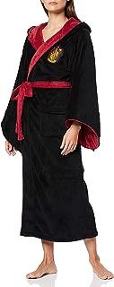 Official Harry Potter Hogwarts Gryffindor Wizard Fleece Dressing Gown Bathrobe