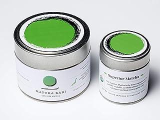 Matcha Kari - Matcha Green Tea - Authentic Japanese Origin - Superior Organic Matcha - 30g - Makes approx 30 Servings - Antioxidants, Energy