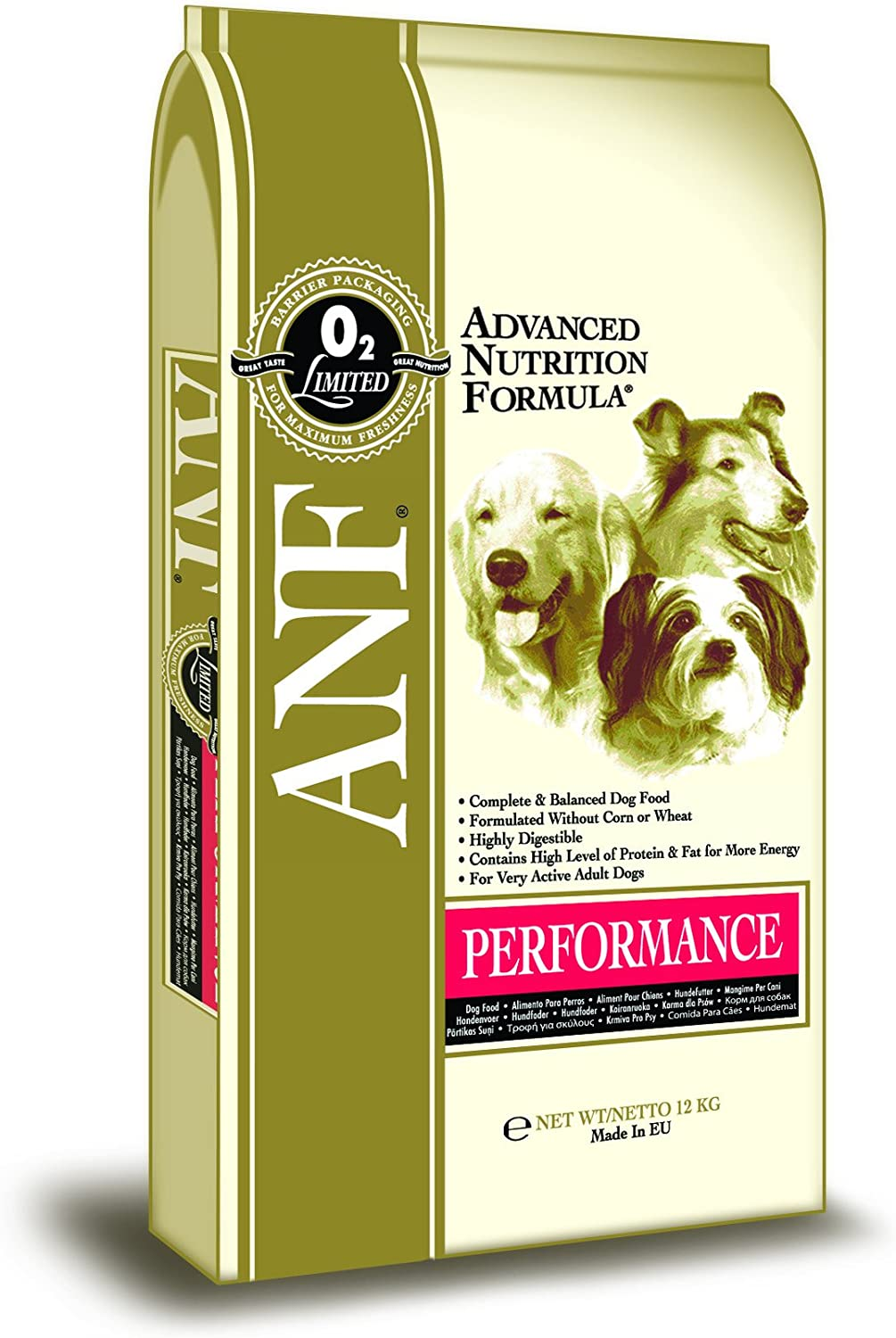 ANF Dog Food Performance, 12kg