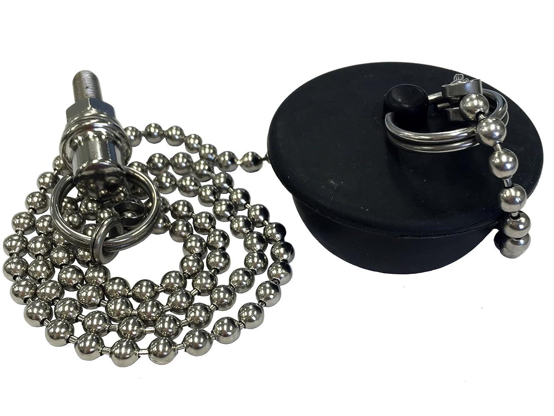 デモンストレーション謙虚なミスLIXIL(リクシル) INAX 浴槽用鎖付ゴム栓 大形 鎖長さ650mm PBF-5G-1
