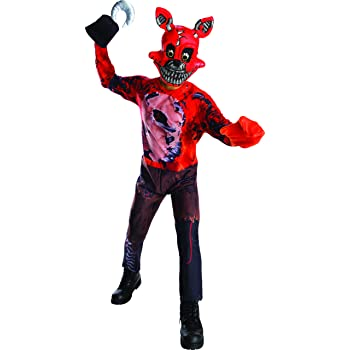 Costume da bambino-LARGE RUBIE/'S UFFICIALE cinque NOTTI AL FREDDY/'S Foxy