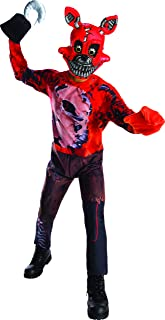 FIVE NIGHTS AT FREDDY'S Nightmare Foxy Costume Child Large