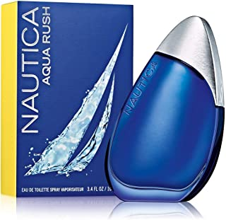 Nautica Aqua Rush Eau De Toilette Spray for Men, 3.4 Ounce