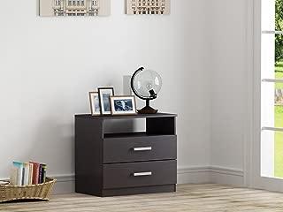 Best homestar alexander 2 drawer nightstand Reviews