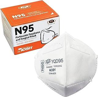 YICHITA YQD95 25枚入 1箱 医療用N95マスク 個包装 折畳式 360度3D設計 NIOSH認証 FDA認証 ASTM F2100-19 LevelⅡ適合