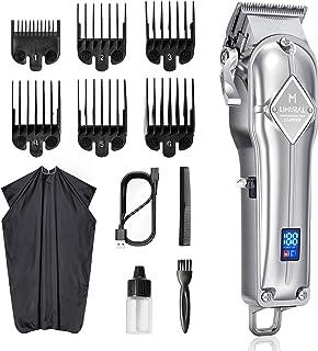 Limural Tagliacapelli Uomo Professionale,Tagliacapelli Elettrico per Bambini, Adulti e Parrucchieri (Regolabile/Wireless/B...